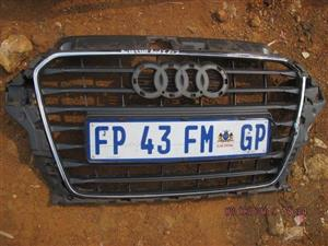 2015 AUDI A3 GRILL – USED (GLOBAL)