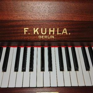 Fritz Kuhla Piano newly restored