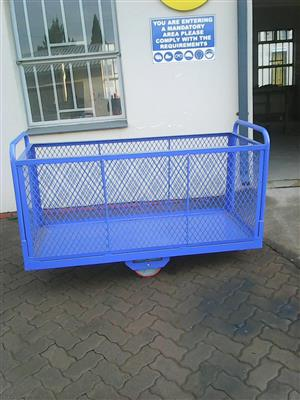 Shopping trolleys, shelves and fabrication service