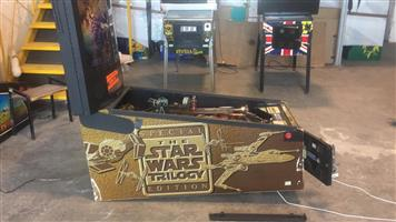 Star Wars Trilogy Pinball Machine by SEGA, available on order