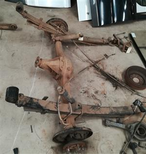 Now in Stock - REAR AXLE - Hyundai H100 2.6D Fleetway