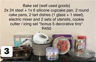 Complete bake set