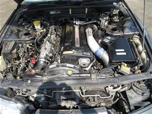 JDM NISSAN SKYLINE R32 GTR RB26DETT ENGINE BREMBO BRAKES REAR DIFFERENTIAL BNR32