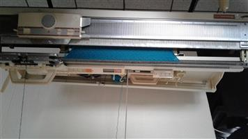 Empisal PB 8 double bed knitting machine