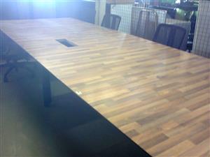 BOARDROOM TABLES - used x 20