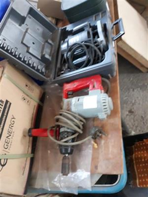 Drill set with case for sale