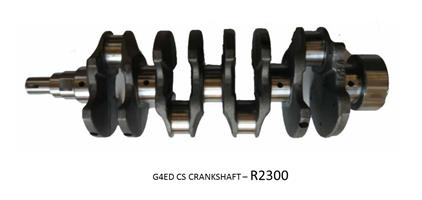 GETZ 1.6 G4ED CS *CRANKSHAFT*