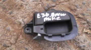 1996 bmw e36 right inner door handle