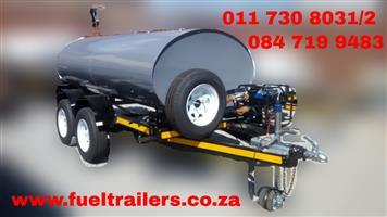 3000 Liters Diesel Trailer