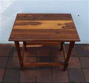 Tambuti side table or bedside table
