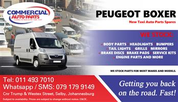 2014 Peugeot Boxer Parts and Spares For Sale.