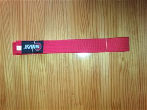 Karate Belt - Red - Smai