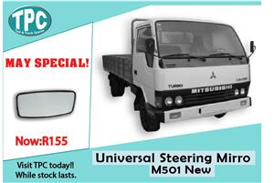 Universal Steering Mirror M501 New for Sale at TPC