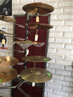 All cast cymbals