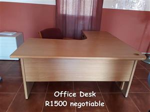 Light wooden office desk for sale