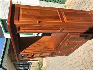 Oregon Pine TV Cabinet - Good Condition