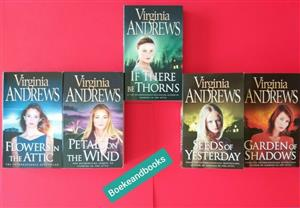 NEW - Dollanganger Series - Virginia Andrews - 5 Books For This Price.