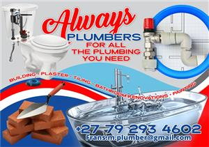 Plumbers for the all plumbing you need