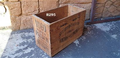 Antique Voco Power Paraffin Crate (525x260x365)