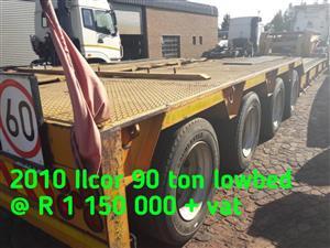 2010 ilcor 90 ton lowbed