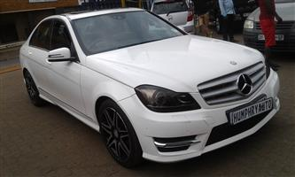 2013 Mercedes Benz C Class C200 AMG Sports