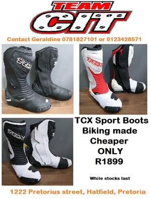 TCX Superbike Boots On Special