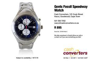 Gents Fossil Speedway Watch