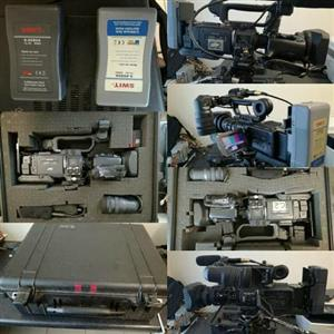 Two JVC HDV Professional Camcoders with Pelican cases & VMount Batteries