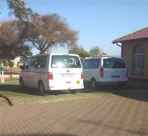 Passenger transport services for hire