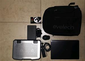 Laptop, laptop bag, laptop stand, mouse and external hard drive for sale