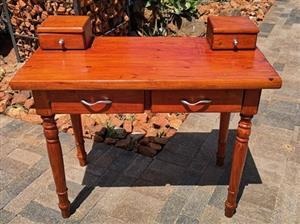 Wooden Desk - 4 drawers