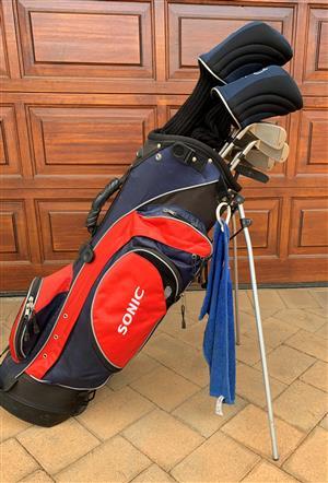 Proline Sonic golf set with bag