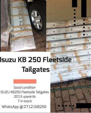 ISUZU KB250 Fleetside Tailgate