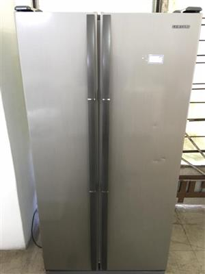 Samsung side by side fridge.