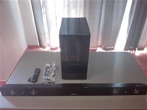 Samsung HW-F450 Airtrack Sound Bar (2.1 Channel)