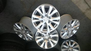 "17"" Original Mazda mags for sale in Pretoria."