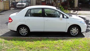 2009 Nissan Tiida sedan 1.6 Visia