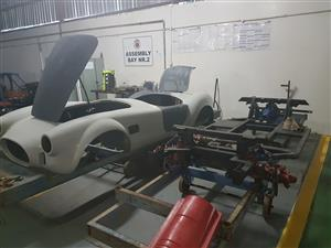 Cobra body and rolling chassis