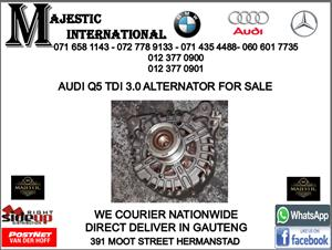Audi Q5 TDI 3.0 alternator for sale