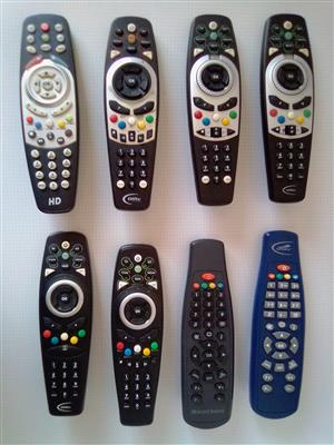 Remote Controls for Satelite decoders Assorted. See picture for more in