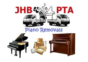 Piano removal specialist in JHB & PTA