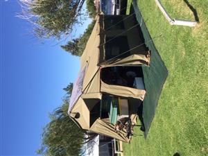 Afrispoor Mongoose 4x4 trailer