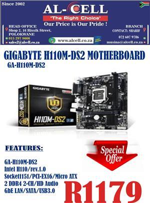 Gigabyte H110M-DS2 Motherboard