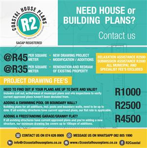 We do house /Building plans