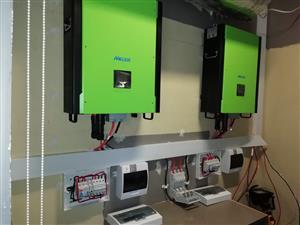 Offgrid Solar Panel Power