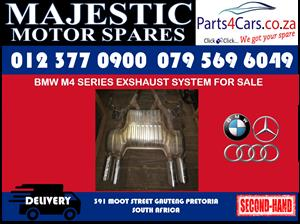 Bmw M4 exhaust system used spares for sale