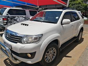 2013 Toyota Fortuner 3.0D 4D Limited auto