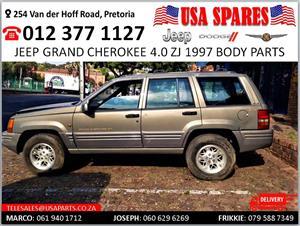 Jeep Grand Cherokee 4.0 ZJ 1997 body spares for sale