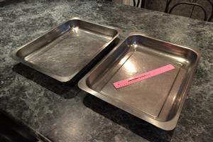 Catering Dishes - Stainless Steel
