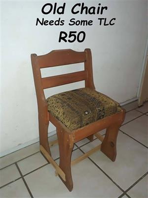 Old chair for sale